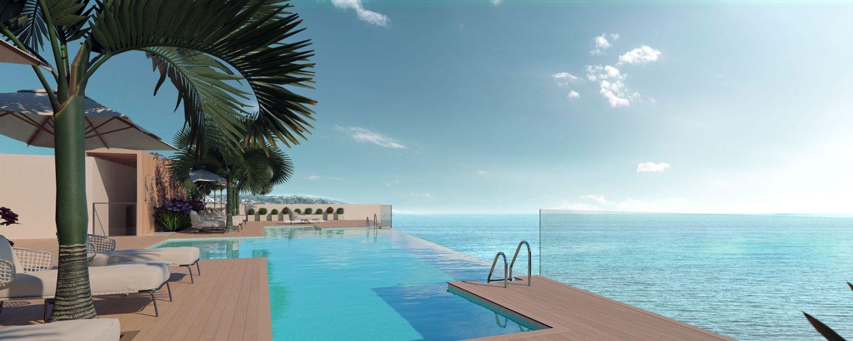 Darya pool area